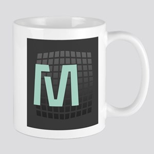 Cool Mint Monogram Mug