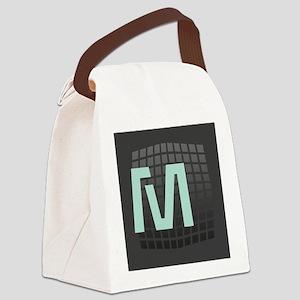 Cool Mint Monogram Canvas Lunch Bag