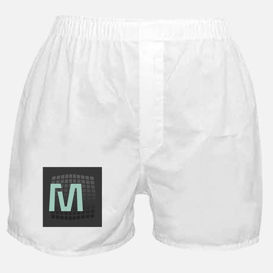 Cool Mint Monogram Boxer Shorts