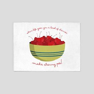 Make Cherry Pie 5'x7'Area Rug