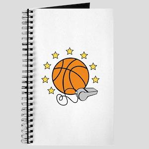 Basketball & Whistle Journal