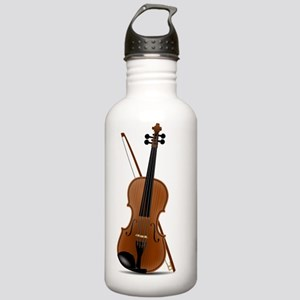 Beautiful Violin With  Stainless Water Bottle 1.0L