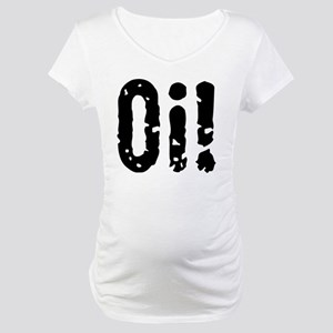 Oi! (Punk) Maternity T-Shirt