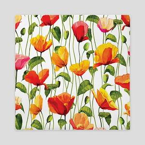 Floral Pattern Queen Duvet