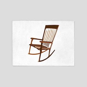 Rocking Chair 5'x7'Area Rug