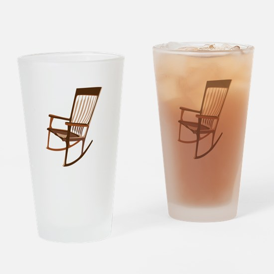 Rocking Chair Drinking Glass