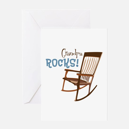 Grandpa Rocks! Greeting Cards
