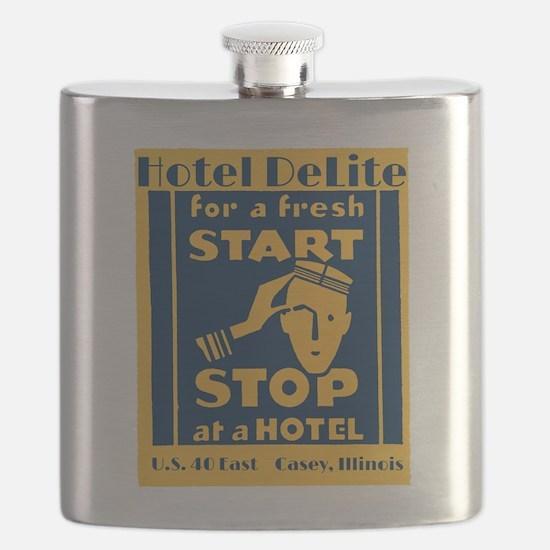 Hotel Delite 1930 Flask