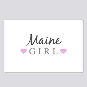 Maine Girl Postcards (Package of 8)