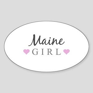 Maine Girl Sticker