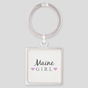 Maine Girl Keychains