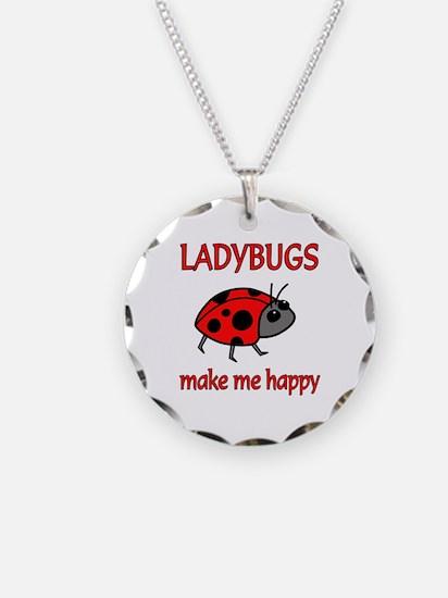 Ladybug Happy Necklace