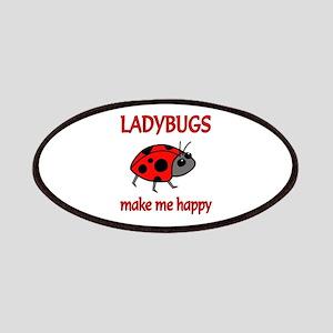 Ladybug Happy Patches
