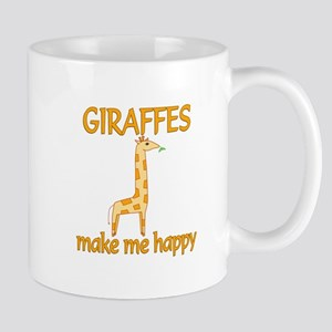 Giraffe Happy Mug