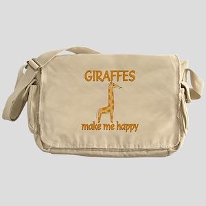 Giraffe Happy Messenger Bag