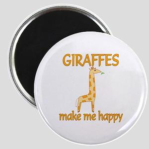 Giraffe Happy Magnet