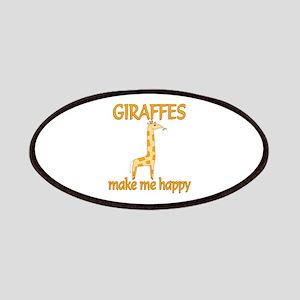 Giraffe Happy Patches