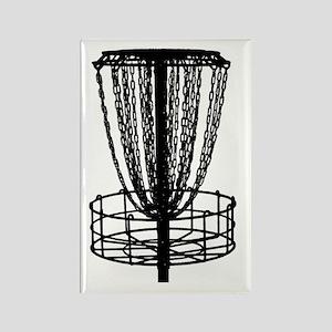 Zen Disc Golf Basket (Birdshot) Rectangle Magnet