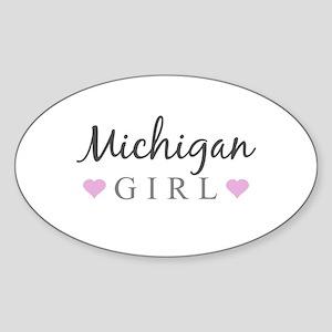 Michigan Girl Sticker