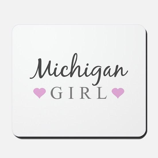 Michigan Girl Mousepad