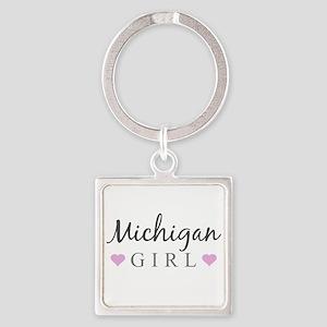 Michigan Girl Keychains