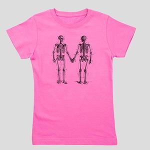 Skeletons Girl's Tee