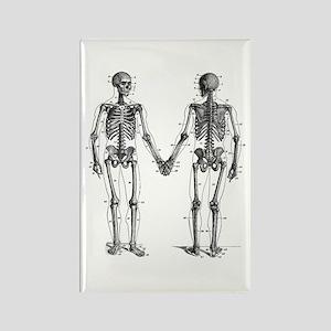 Skeletons Rectangle Magnet