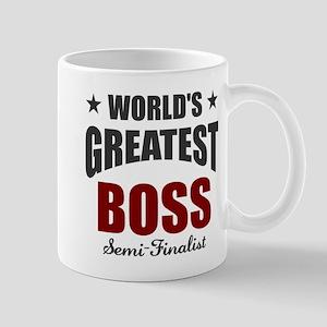 Greatest Boss Semi-Finalist Mug