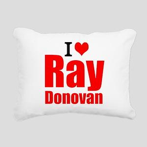 I Love Ray Donovan Rectangular Canvas Pillow