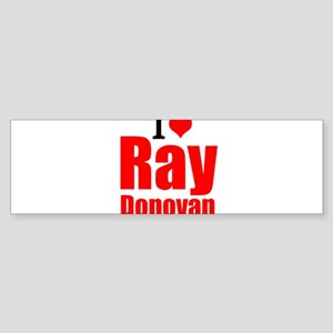 I Love Ray Donovan Bumper Sticker