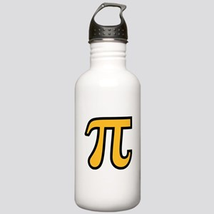 Yellow Pi symbol Stainless Water Bottle 1.0L