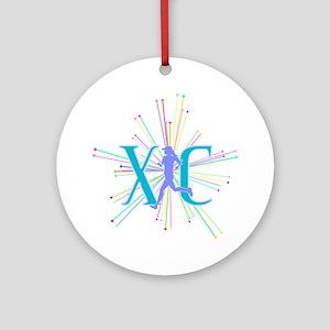 XC Starburst Round Ornament