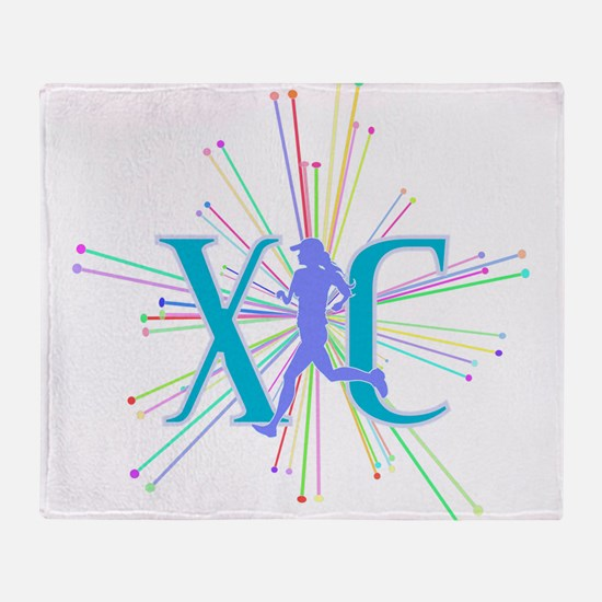 Cute Cross country Throw Blanket