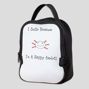 Happy Axolotl Neoprene Lunch Bag