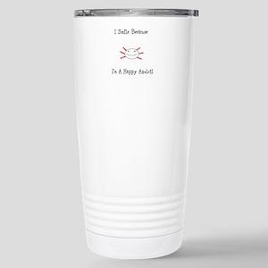 Happy Axolotl Travel Mug