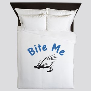 Bite Me Queen Duvet