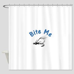Bite Me Shower Curtain