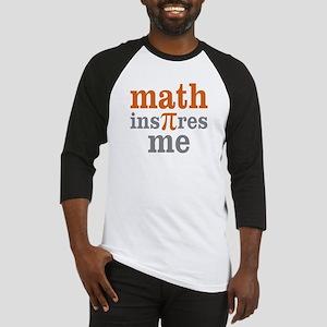 Math Inspires Me Baseball Jersey