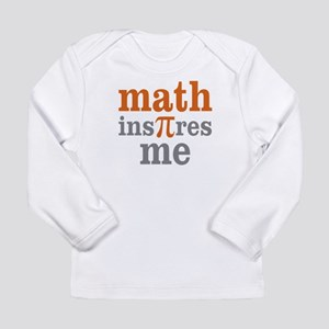 Math Inspires Me Long Sleeve Infant T-Shirt