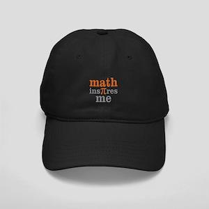 Math Inspires Me Black Cap