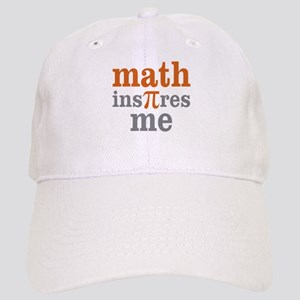 Math Inspires Me Cap