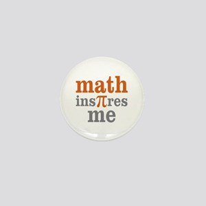 Math Inspires Me Mini Button