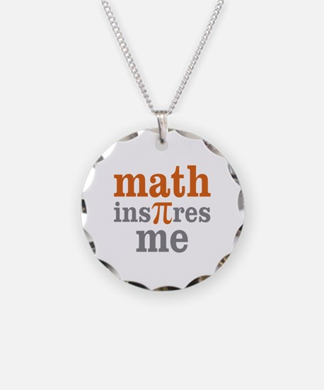Math Inspires Me Necklace