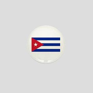 Cuban Flag Mini Button