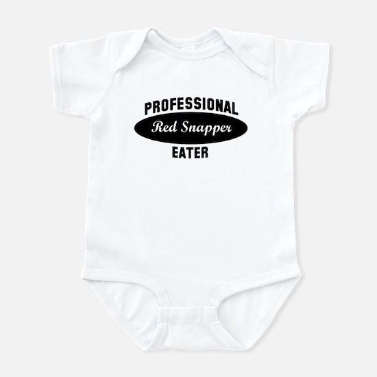 Pro Red Snapper eater Infant Bodysuit