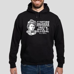 Emma Goldman On Voting Hoodie