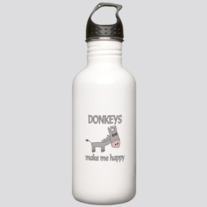 Donkey Happy Stainless Water Bottle 1.0L