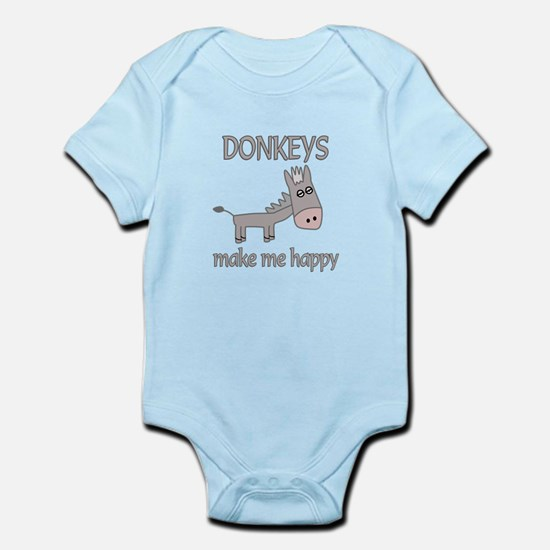 Donkey Happy Infant Bodysuit