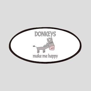 Donkey Happy Patches