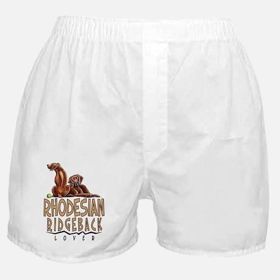 Rhodesian Ridgeback Lover Boxer Shorts